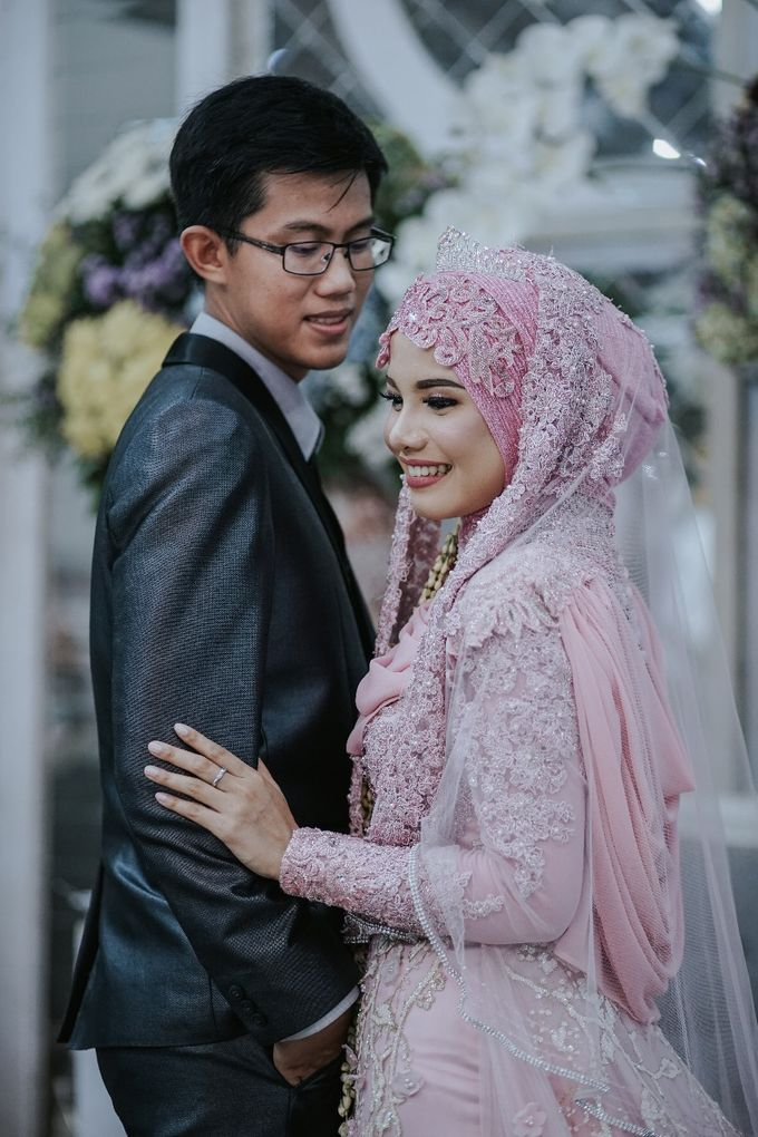 Wedding Layli -Amal by LAKSMI - Kebaya Muslimah & Islamic Bride - 010
