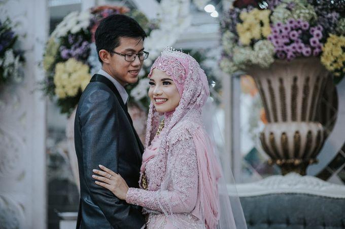 Wedding Layli -Amal by LAKSMI - Kebaya Muslimah & Islamic Bride - 011