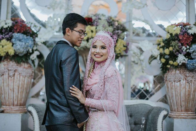 Wedding Layli -Amal by LAKSMI - Kebaya Muslimah & Islamic Bride - 012