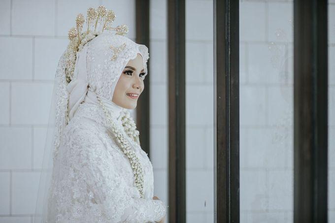 Wedding Layli -Amal by LAKSMI - Kebaya Muslimah & Islamic Bride - 001