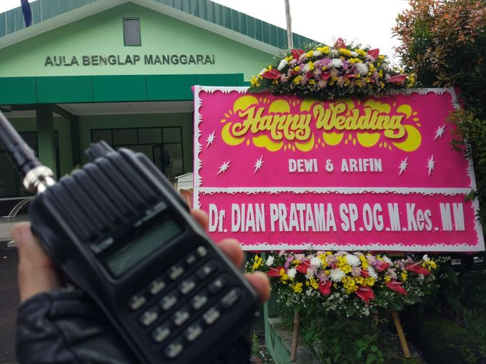 The Wedding of Dewi & Arifin by Handy Talky Rental bbcom - 001