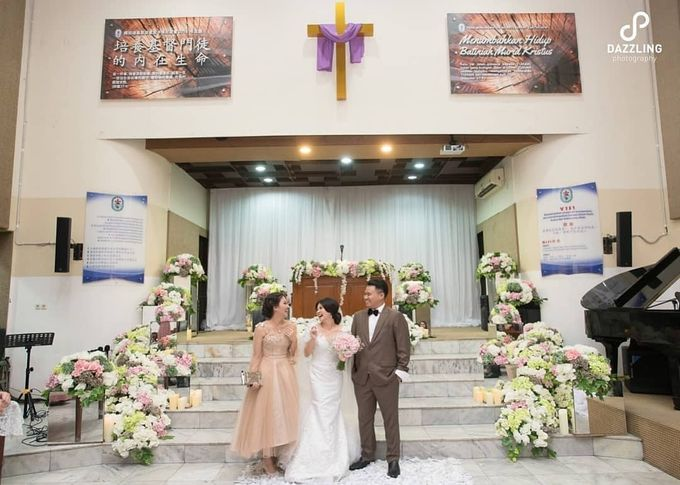 Joe & Wendy Wedding by Adhyakti Wedding Planner & Organizer - 005