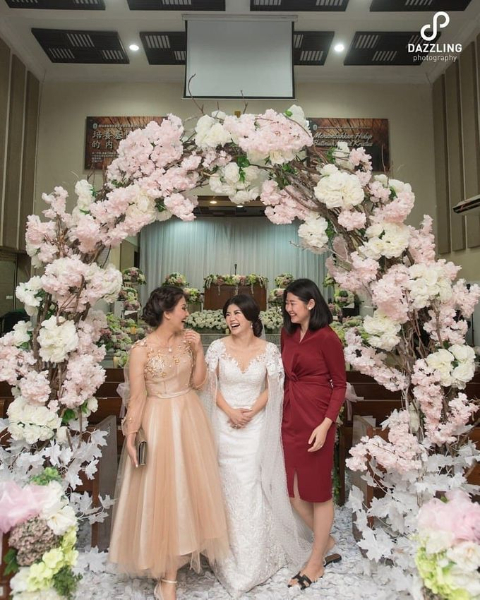 Joe & Wendy Wedding by Adhyakti Wedding Planner & Organizer - 006