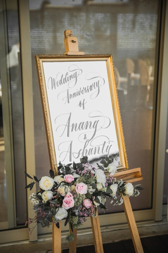 Love's in the air, Anang & Ashanty Wedding Anniversary in Bali by Silverdust Decoration - 001
