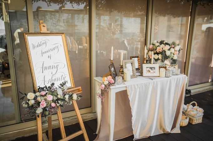 Love's in the air, Anang & Ashanty Wedding Anniversary in Bali by Silverdust Decoration - 018