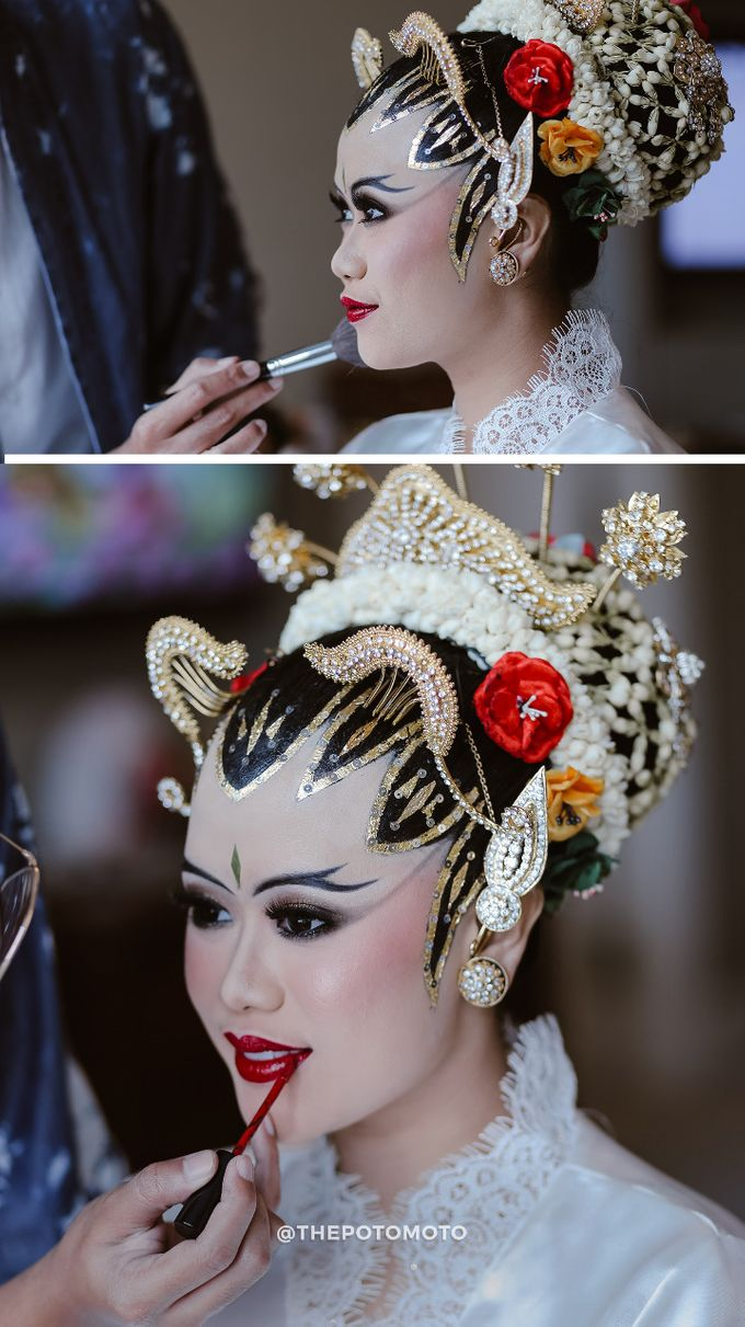 Angga & Nesha Wedding Day by Adhyakti Wedding Planner & Organizer - 014