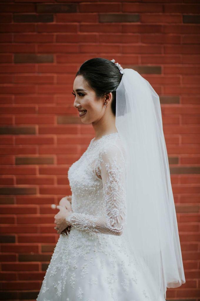 Wedding of Ferdie & Intany by Michelle Alphonsa - 003
