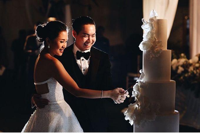 Wedding Cake - Albert & Olivia by Lareia Cake & Co. - 005