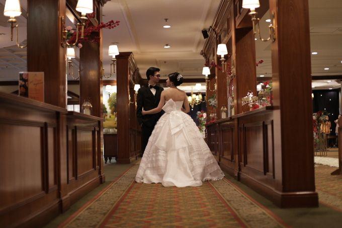 Wedding of Christian & Jane by MERCANTILE PENTHOUSE WEDDING - 001