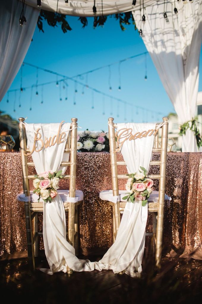 Janice & Buddy Wedding by Sheraton Bali Kuta Resort - 016