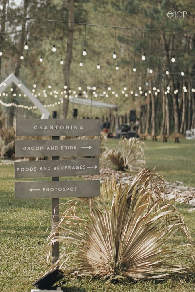 The Intimate Wedding between Two Haters of Fresh Flowers by Elior Design - 030