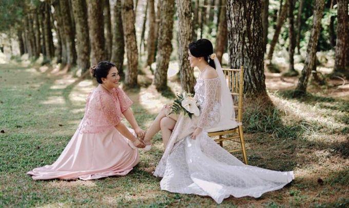 Botanical wedding of Alice and Ganish by Florencia Augustine - 004