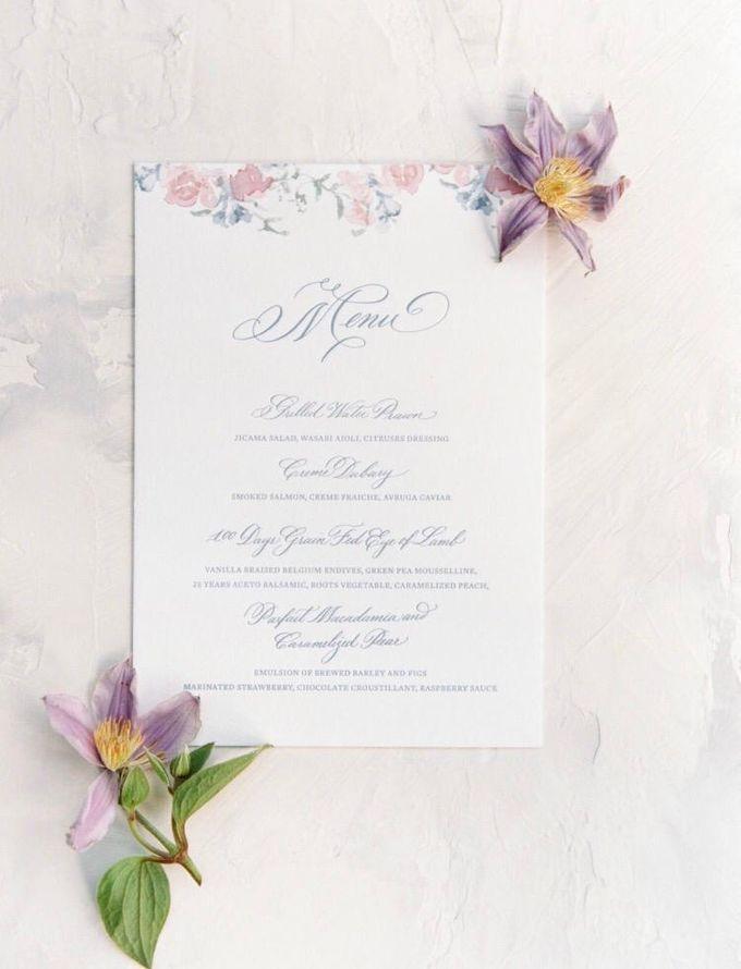 Min Yue & Zhang Tong Wedding by Veronica Halim Calligraphy - 008