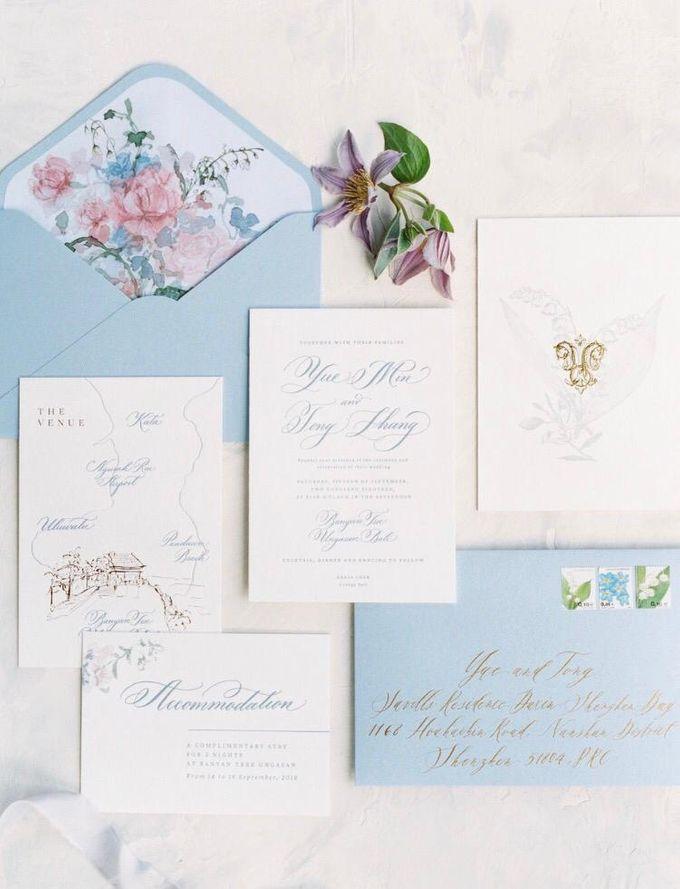 Min Yue & Zhang Tong Wedding by Veronica Halim Calligraphy - 007