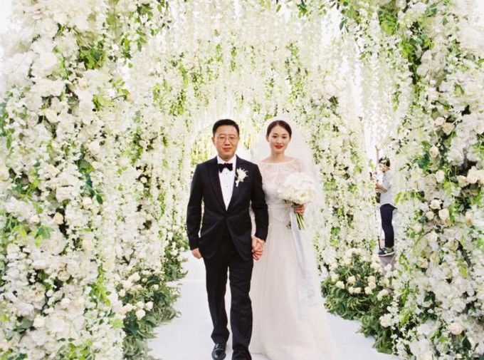Min Yue & Zhang Tong Wedding by Flying Bride - 005
