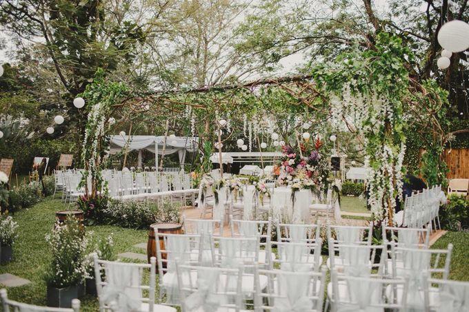 ANGGI & WIKA by Raffles Hills Cibubur - On Green Garden Venue - 001