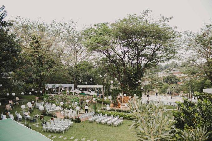 ANGGI & WIKA by Raffles Hills Cibubur - On Green Garden Venue - 005
