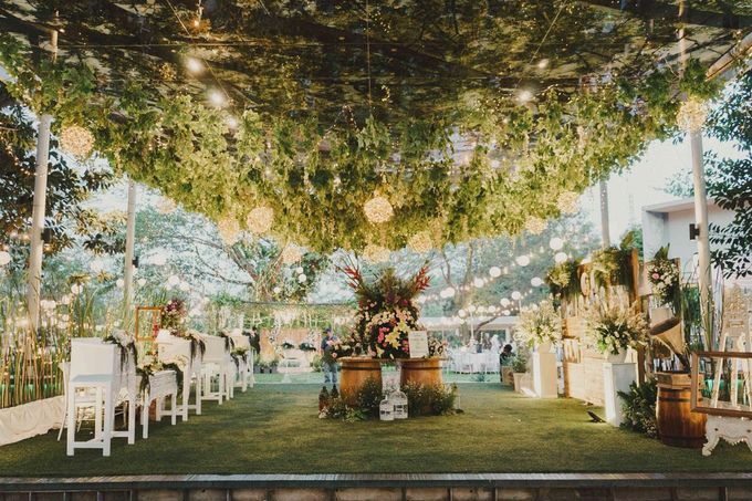 ANGGI & WIKA by Raffles Hills Cibubur - On Green Garden Venue - 007