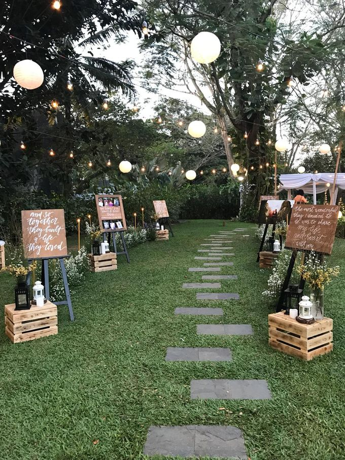 ANGGI & WIKA by Raffles Hills Cibubur - On Green Garden Venue - 015