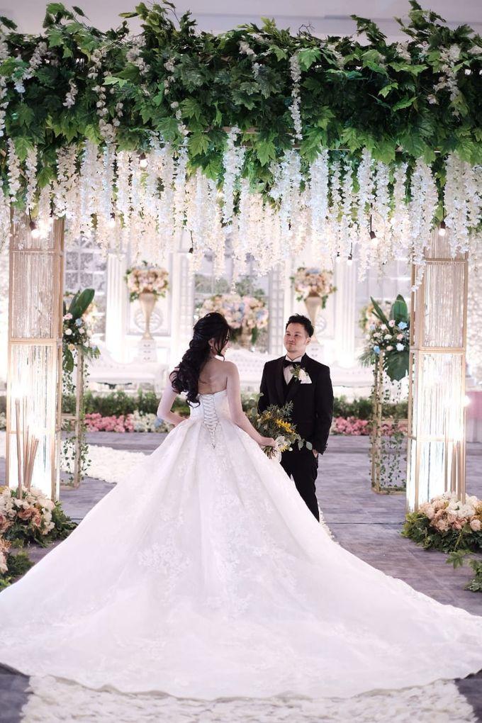 Kiki & Candy  Wedding Day by Elina Wang Bridal - 001