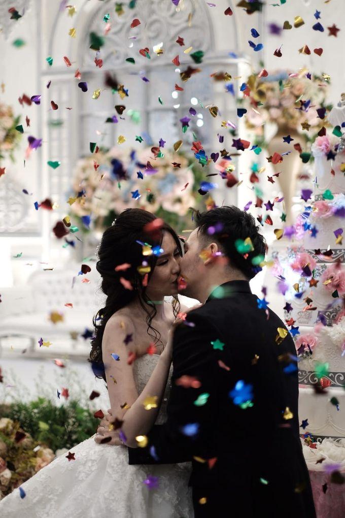 Kiki & Candy  Wedding Day by Elina Wang Bridal - 008
