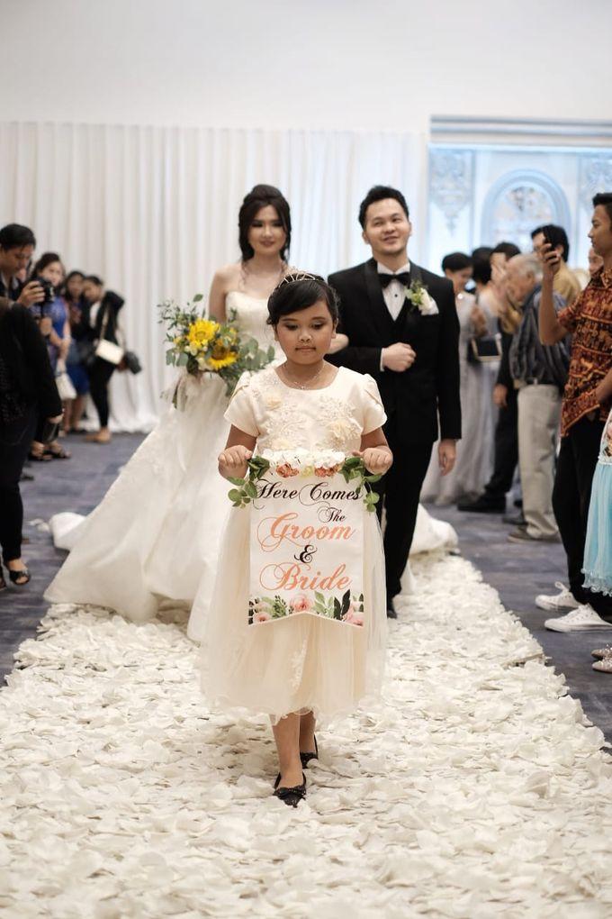 Kiki & Candy  Wedding Day by Elina Wang Bridal - 006