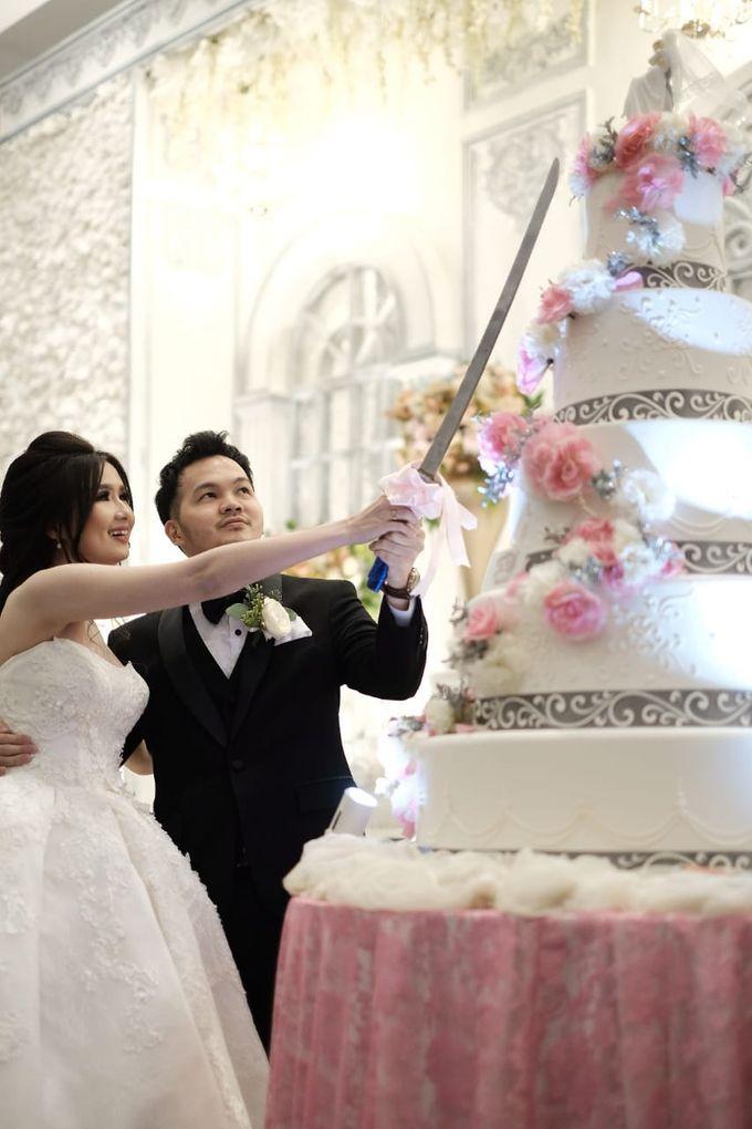 Kiki & Candy  Wedding Day by Elina Wang Bridal - 005
