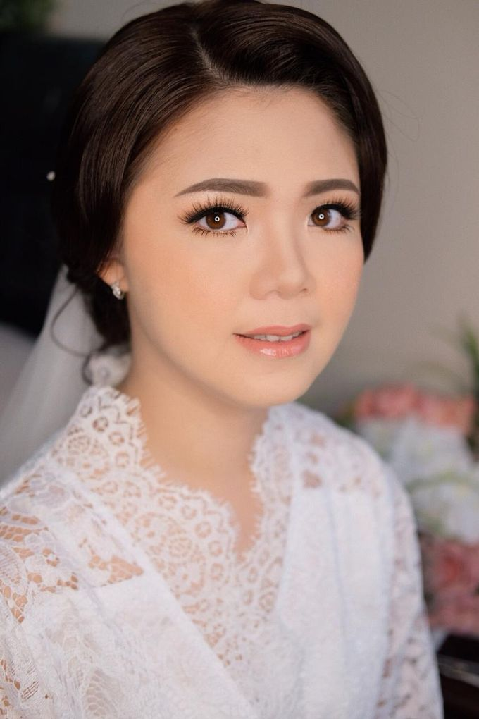 The Wedding by Brigita Indriani by VA Make Up Artist - 009