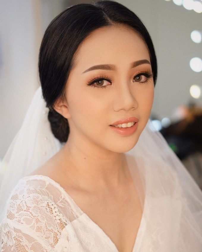 The Wedding by Brigita Indriani by VA Make Up Artist - 008