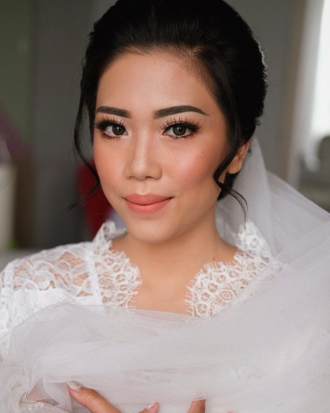 The Wedding by Brigita Indriani by VA Make Up Artist - 010