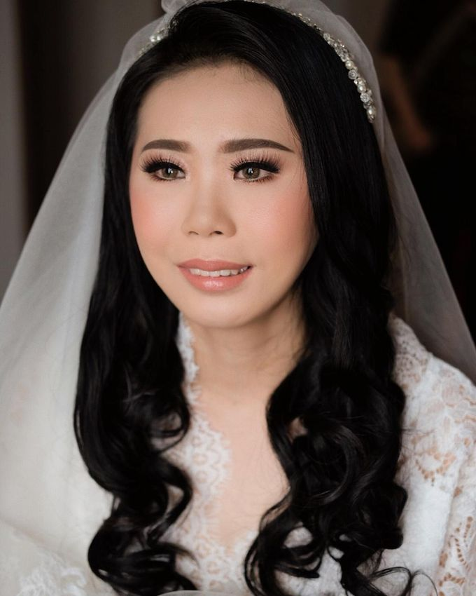 The Wedding by Brigita Indriani by VA Make Up Artist - 011