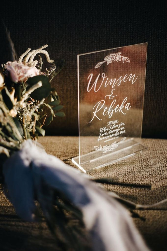 The Wedding of Winsen & Rebeka by TurquoiSe Organizer - 007