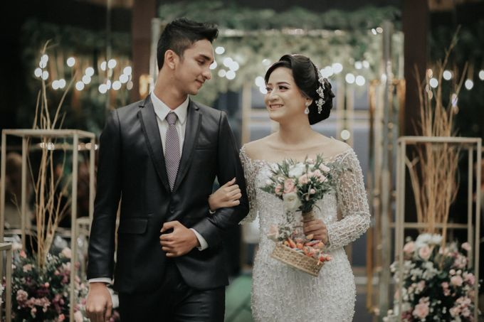 Dilan & Chilla Rustic Wedding by Simple Wedding Organizer - 004