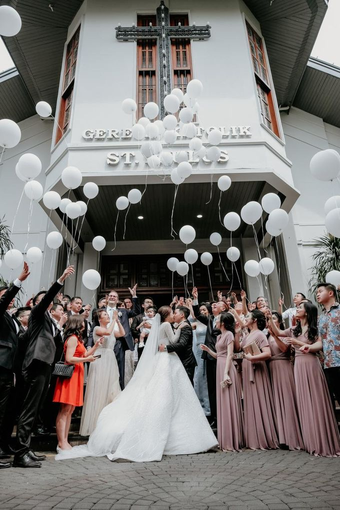 The Wedding of Ricky & Elvina by TurquoiSe Organizer - 001