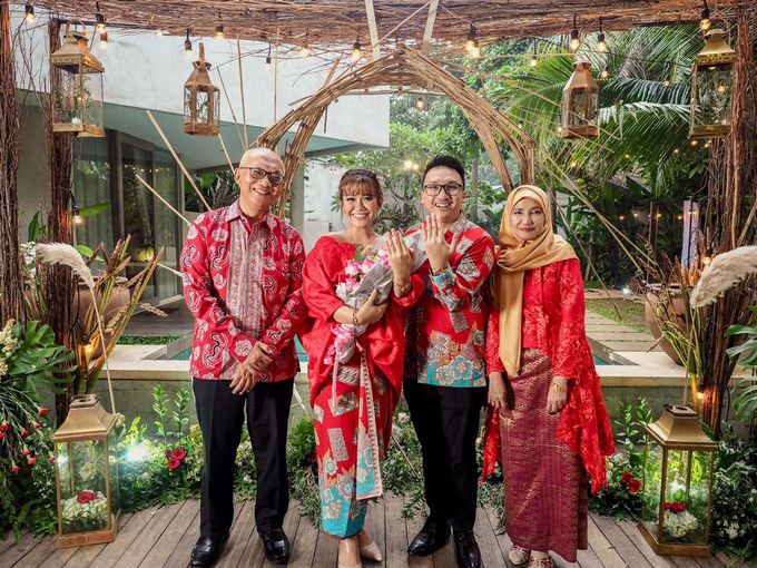 Engagement of Alvin & Pelangi by Azila Villa - 006