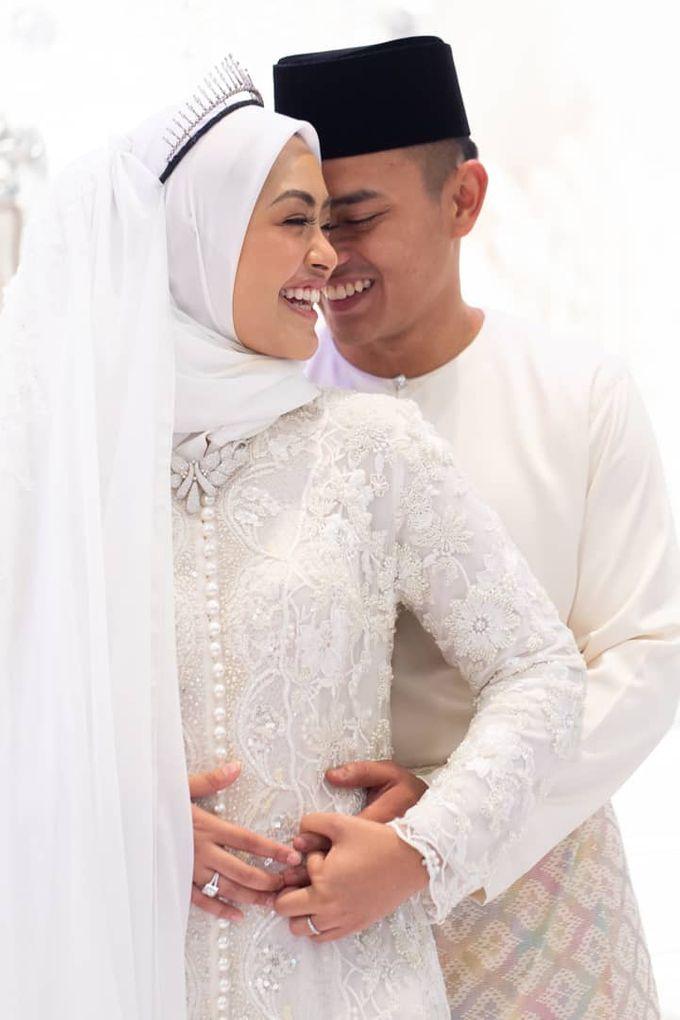 Atiah & Zaini Wedding in Johor Bahru, Malaysia by SVARNA by IKAT Indonesia Didiet Maulana - 001
