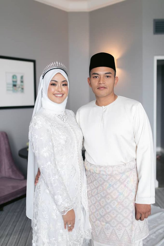 Atiah & Zaini Wedding in Johor Bahru, Malaysia by SVARNA by IKAT Indonesia Didiet Maulana - 004