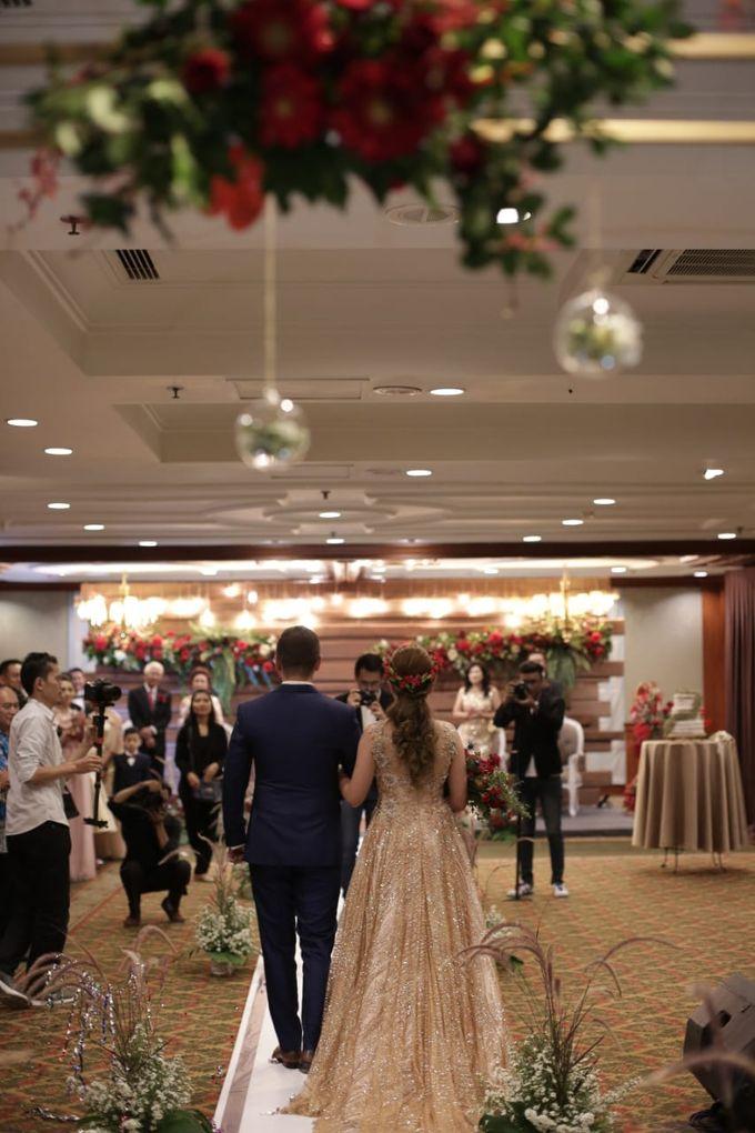 Claresa & Rendy by MERCANTILE PENTHOUSE WEDDING - 002