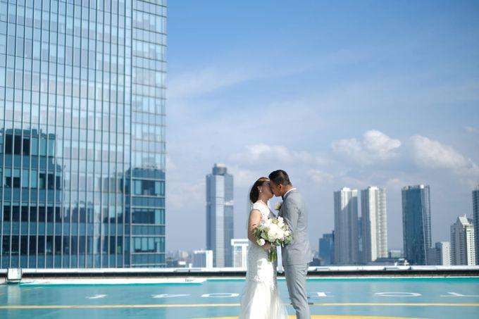 Claresa & Rendy by MERCANTILE PENTHOUSE WEDDING - 005