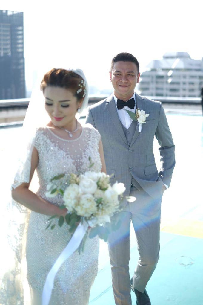 Claresa & Rendy by MERCANTILE PENTHOUSE WEDDING - 006