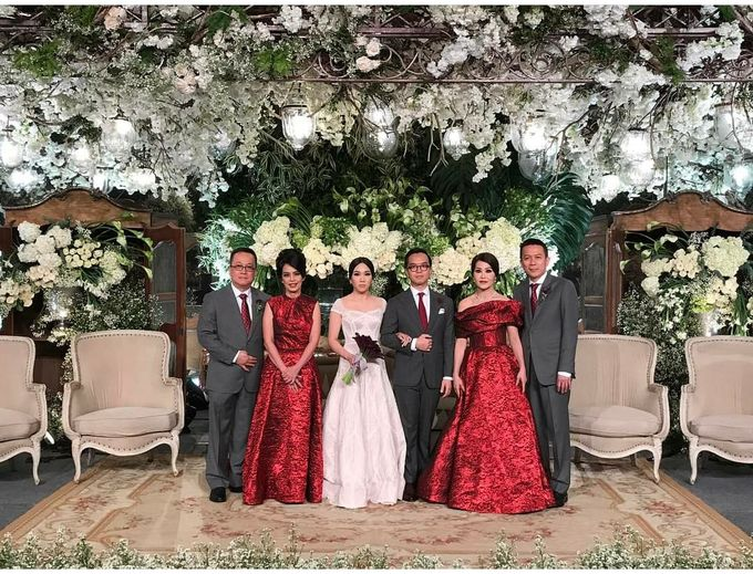 The Wedding of Andrew & Elvina by Imelda Hudiyono Bride - 002