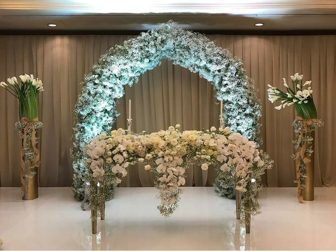 The Wedding of Tony & Liana by Flora Lines Decoration - 004