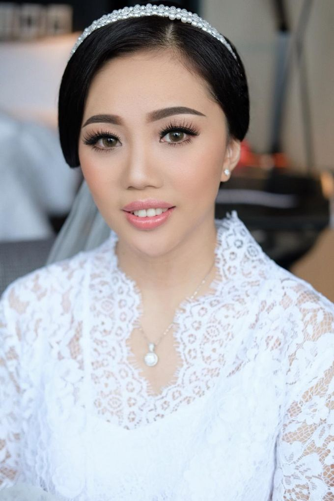 The Wedding by Brigita Indriani by VA Make Up Artist - 014