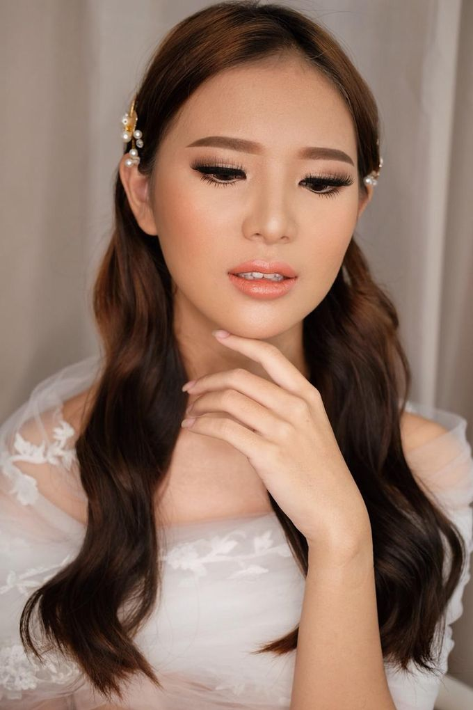 The Wedding by Brigita Indriani by VA Make Up Artist - 006