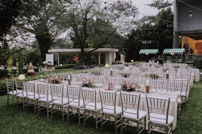 IVANA & HARTONO by Raffles Hills Cibubur - On Green Garden Venue - 003
