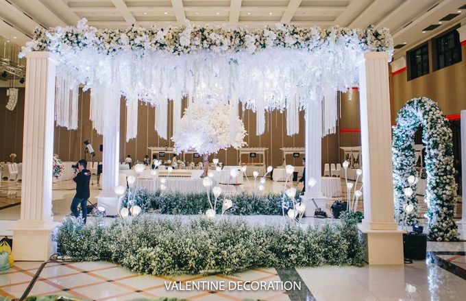 William & Santa Wedding Decoration by Lino and Sons - 022