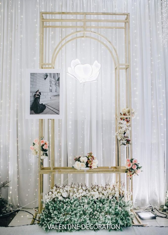 William & Santa Wedding Decoration by Lino and Sons - 025