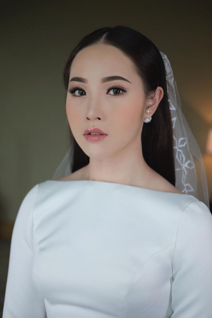 The Wedding by Brigita Indriani by VA Make Up Artist - 003