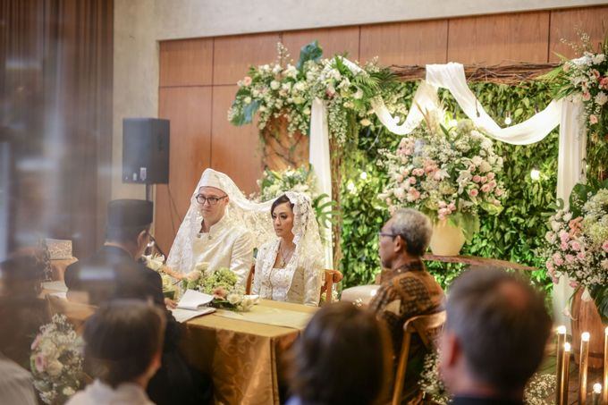 The Wedding Hanika & Josh by AVIARY Bintaro - 008