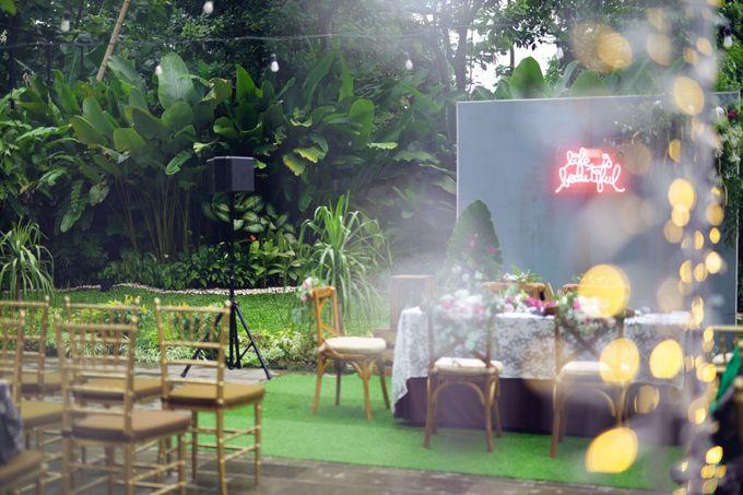 The Wedding Ayu & Faisal by AVIARY Bintaro - 004